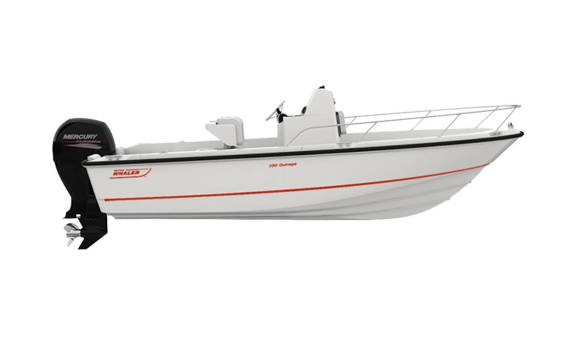 a boston whaler outrage rendering.