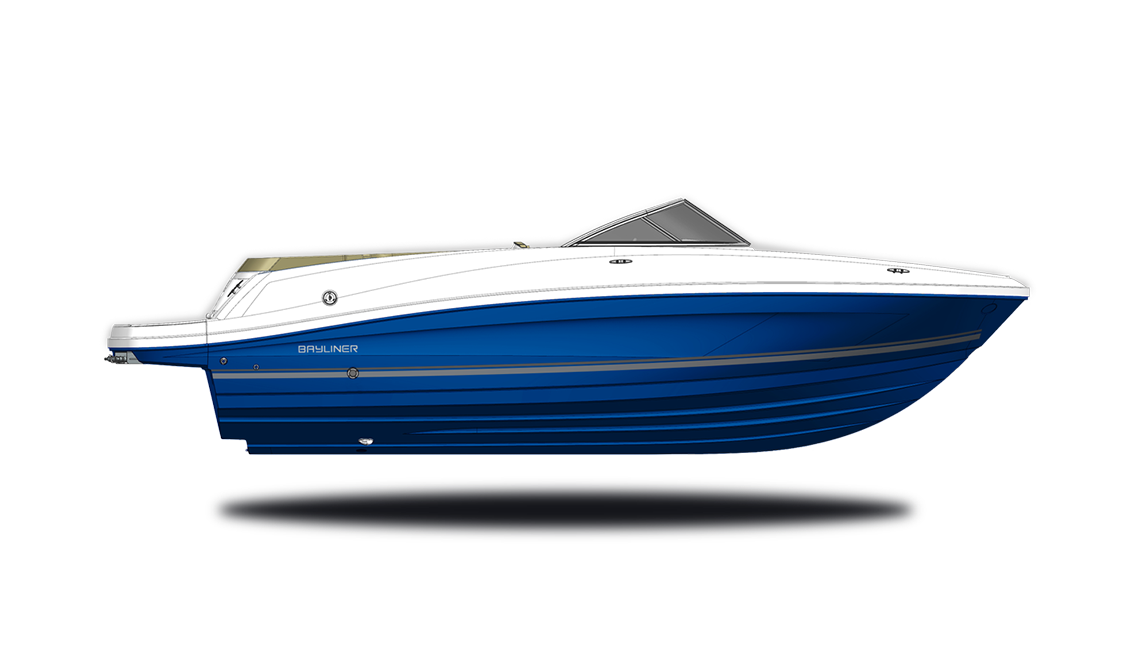 a rendering of a bowrider by bayliner