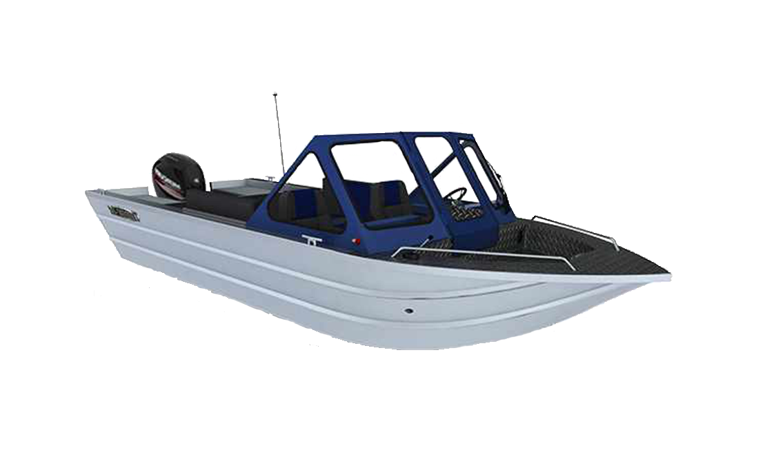 a rendering of a thunderjet eco boat sold at Gordon Bay Marine.