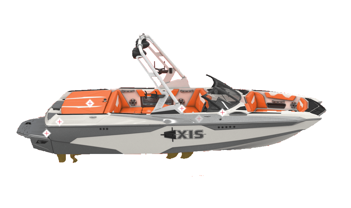 an axis wake boat A20