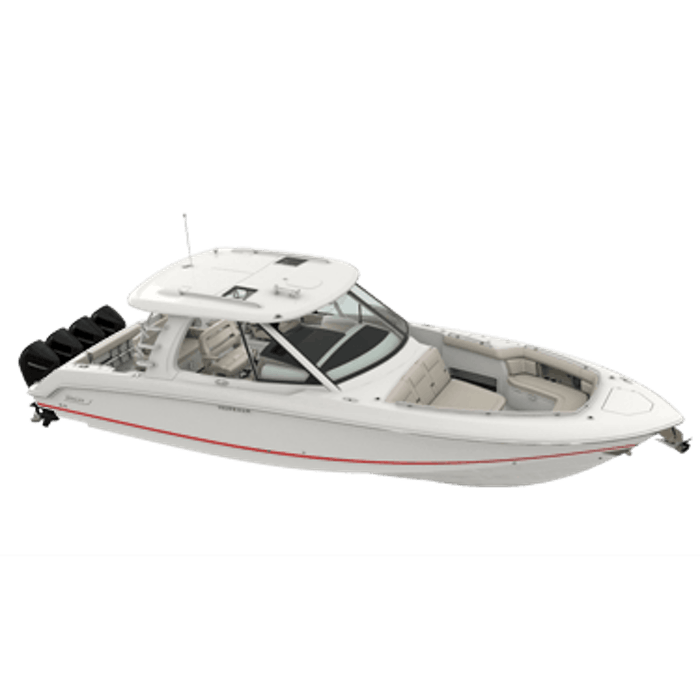 Boston Whaler Realm fishing boat