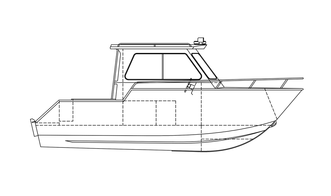 cruiser hard top by stanley boats