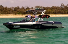 Axis Wak A20 in blue water