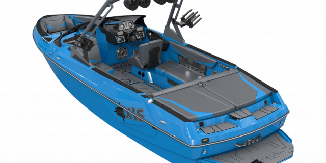AT23 boat rendering full rear