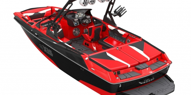 the full boat picture of the 2020 Axis Wake A22