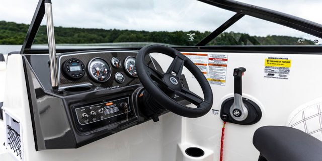 bayliner dx2250 interior console