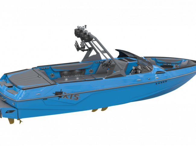 AT23 boat rendering full side